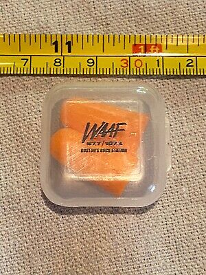 WAAF Ear Plugs With Case Promo Rare