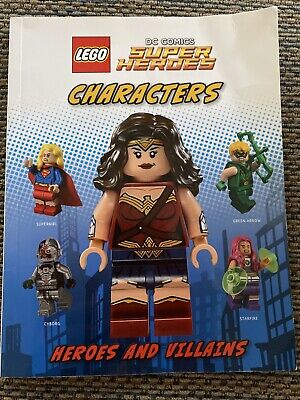 LEGO DC Comics Super Heroes Characters -Heroes and Villains Paperback Book