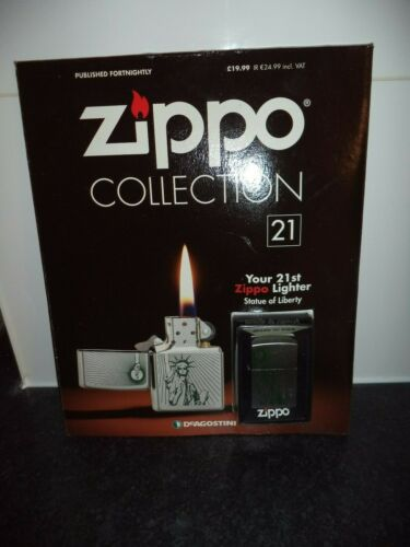 NO 21 DEAGOSTINI ZIPPO LIGHTER COLLECTION sealed lighter