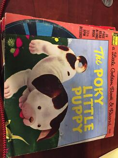 A Little Golden Book and Record, The Pokey Little Puppy 203