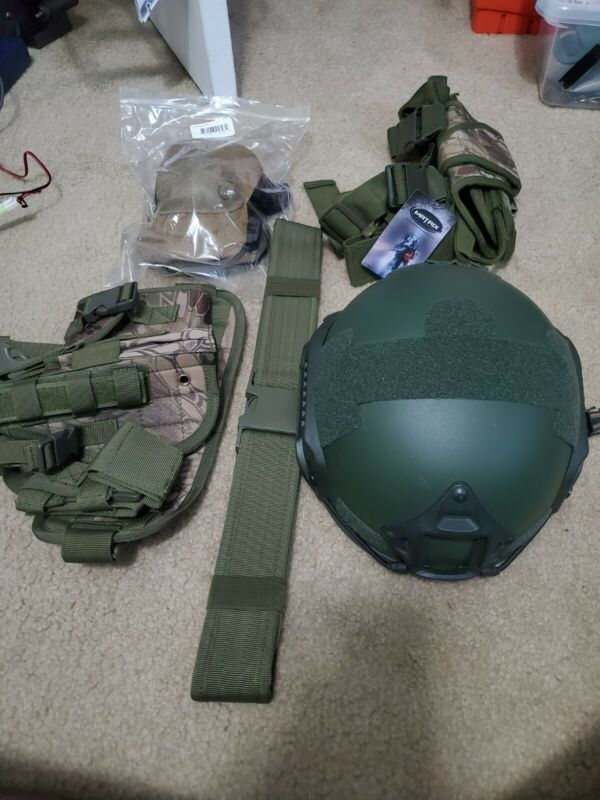Airsoft Gear Lot New