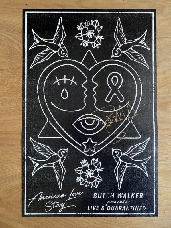 Butch Walker Signed Poster