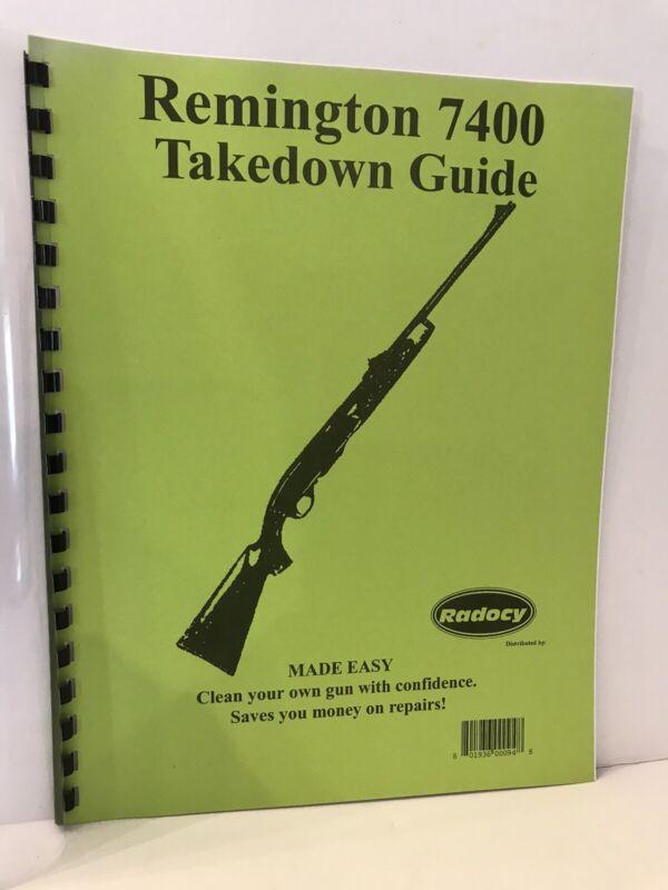 Remington 7400 Takedown Guide