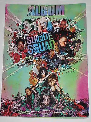 SUICIDE SQUAD // SPANISH STICKER ALBUM+STICKERS // MARGOT ROBBIE HARLEY QUINN