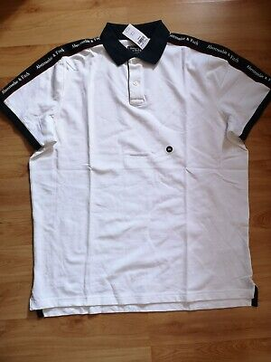 ABERCROMBIE AND FITCH MENS TSHIRT POLO XXL