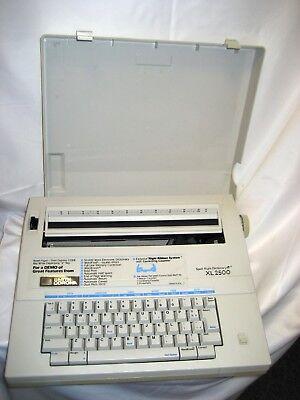 Refurbish Smith Corona Xl-2500 Typewriterword Processor Spell-right Dictionary