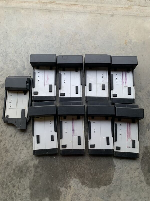 Data Systems Flatbed Credit Card Imprinter Machine Vintage 1980s 1990s  Lot Of 9