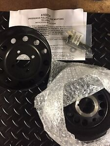 Brand new Steeda underdrive pulleys for 05-10 mustang 4.6