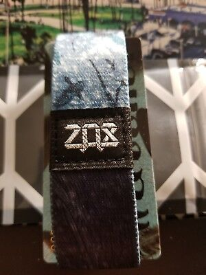 Zox Strap Watcher By Sam Oppenheimer  Silver  Card Included