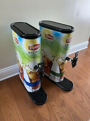 2 Bunn Commercial Restaurant Iced Tea Dispensers Direct Line Hookups