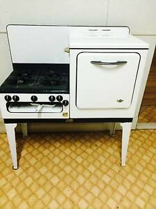 Antique Gas Oven made by UMI Ascot Brisbane North East Preview