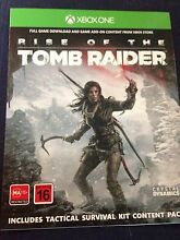 Rise of the Tomb Raider and Tomb raider Definitive edition Xbox one Port Noarlunga Morphett Vale Area Preview