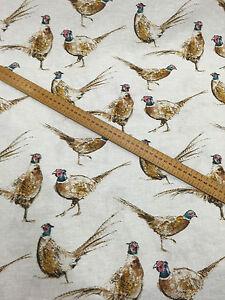 Pheasant Fabric Ebay