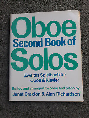 Second Book of Oboe Solos edited & arranged by Janet Craxton & Alan Richardson