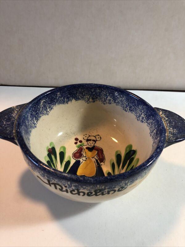 Vintage ceramic richline Bretagne small bowl