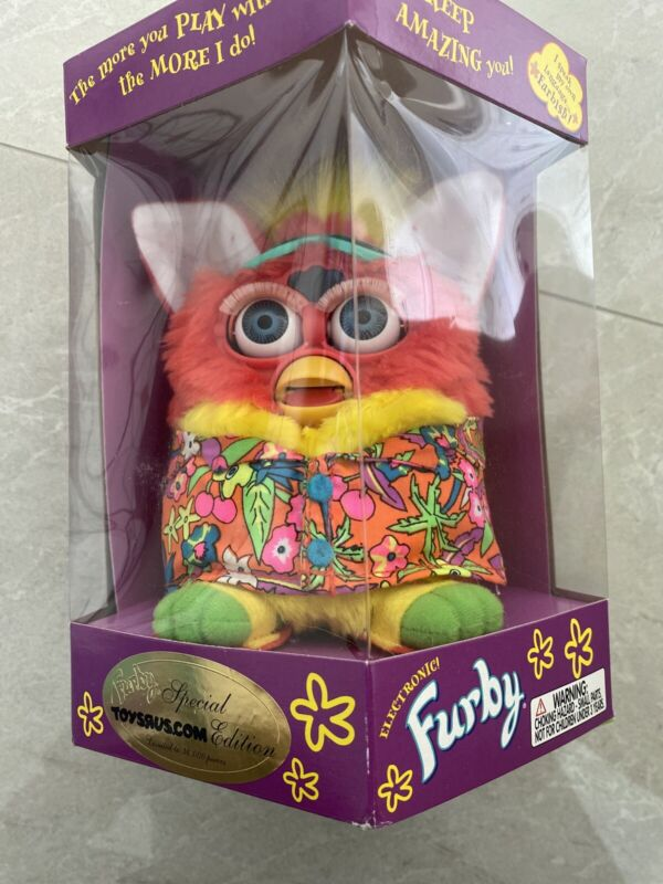 BRAND NEW FURBY Special Edition Hawaiian Shirt #70-897 SEALED
