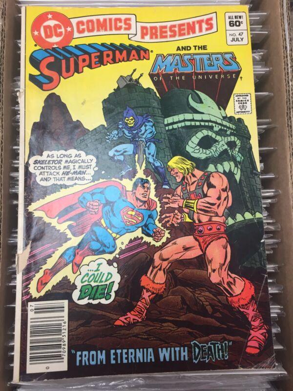 DC Comics Presents #47, 1st He-Man & Skeletor