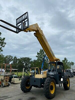 2012 Gehl Rs8-42 Telescopic Diesel Forklift 8k Lb 42 Reach Tilting Cab 1572hrs