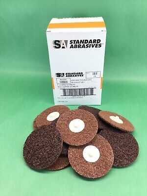 X25 Standard Abrasives 840481 3 Coarse Quick Change Tr Surface Cond-fe Discs