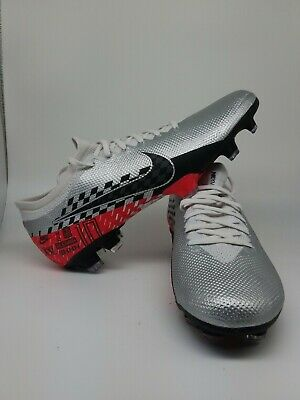 Nike Mercurial Vapor 13 Pro Neymar JR FG Size 8 Soccer Cleats Chrome AT7904-006