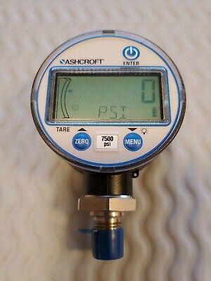 Ashcroft Digital Gauge 0-7500 Psi Dg2551lonam02l-7500
