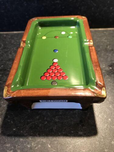 Embassy World Snooker Ltd Edition Ashtray Collectible Smoking Memorabilia