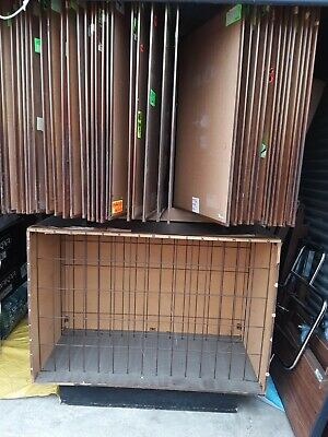 Used Poster Bindisplay With 34 Wings To Display Up To 68 Posters With Storage