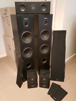 Linkman surround sound speakers