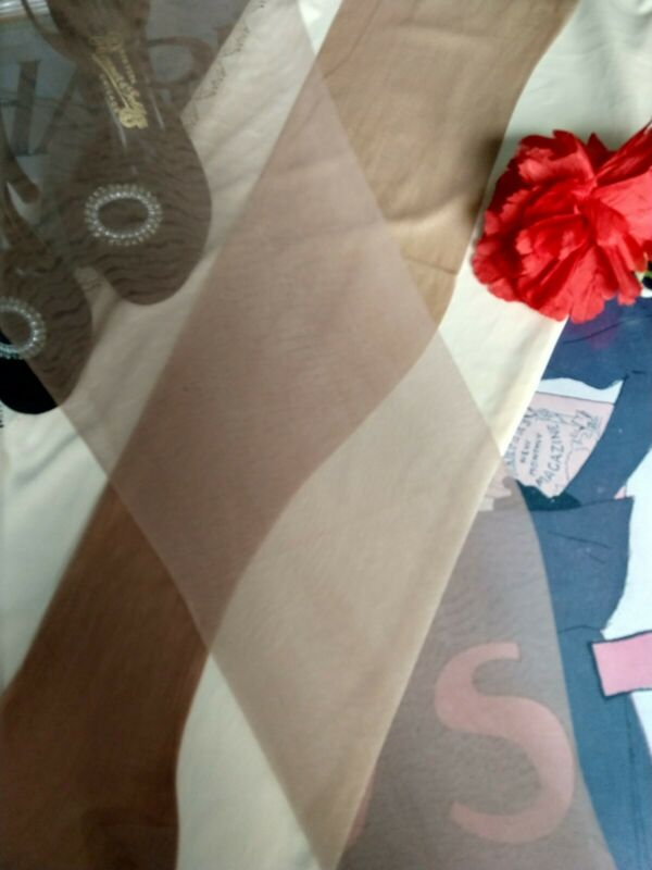 "vintage nylon stockings BERKSHIRE - walking sheer 30 den 11LONG 35"""