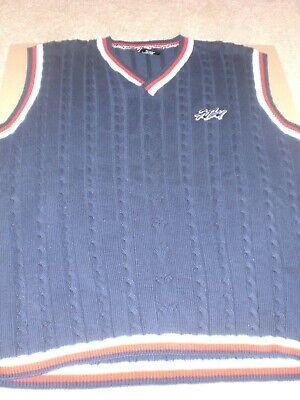 Fubu Blue Sweater Vest Size L