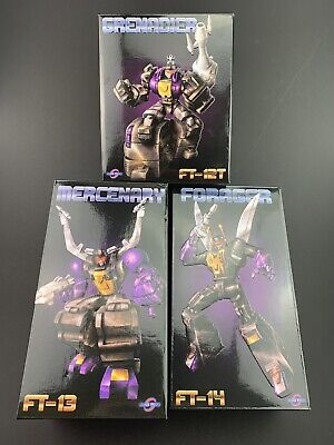 FansToys FT-12T,  FT-13,  FT-14 Insecticons **Boxes, Instructions & Inserts ONLY
