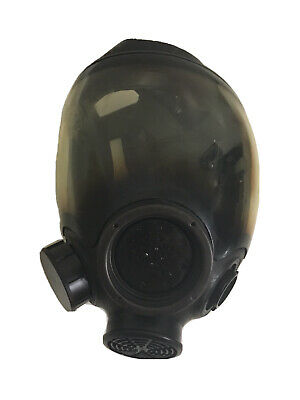 Msa 7-1293-3 Large Full Face Gas Mask Respirator Government Surplus