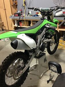 2012 KX450f SHOWROOM CONDITION
