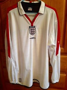 England 2003-2005 National Reversible Football Jersey St. John's Newfoundland image 1