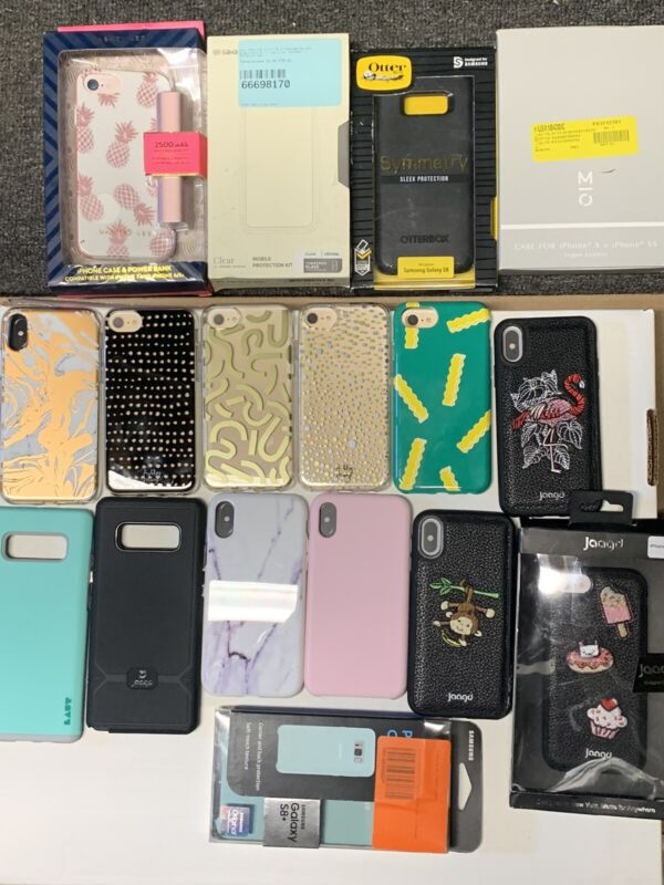 Bulk Wholesale Lot Of IPhone Cases, Bluetooth Headphones & Much more, 55+ Items!