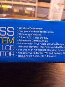 Wireless rear view camera system