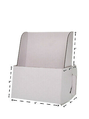 Lot Of 15 Card Board Displays 5w X 6 14h Cardboard Literature Holder