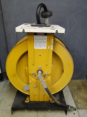 Graco 218-445 F88b Lubeoil 25ft Retractable Hose Reel And Gun For Service Shop
