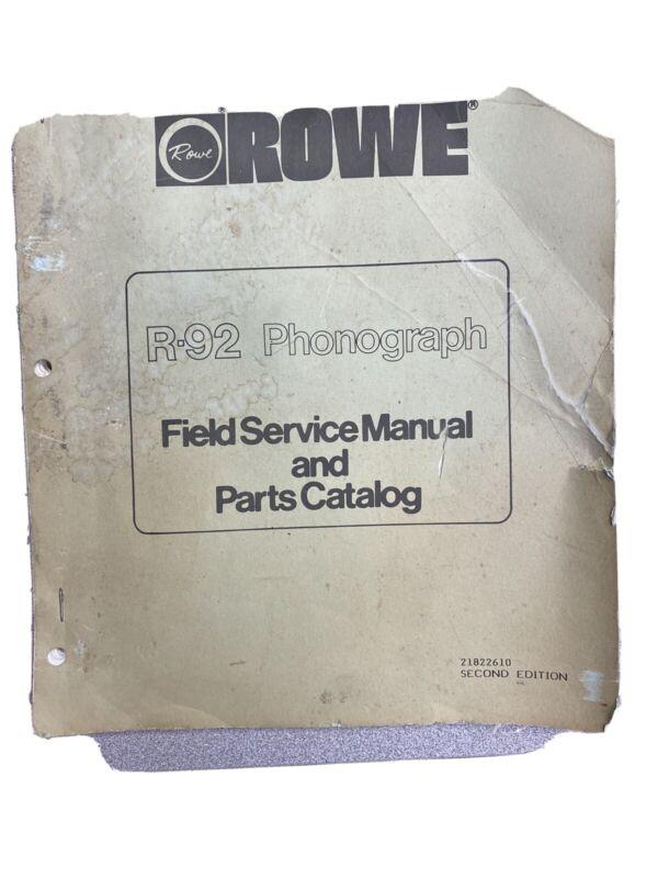 Vintage Rowe 92 JUKEBOX PRE-OWNED