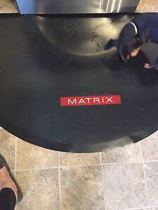 Salon chair anti fatigue mat
