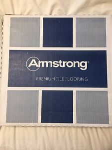 New in box Armstrong premium vinyl tiles