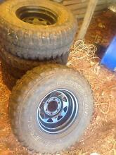 """15"""" x 8"""" Sunraysia rims and tyres Bolwarra Glenelg Area Preview"""