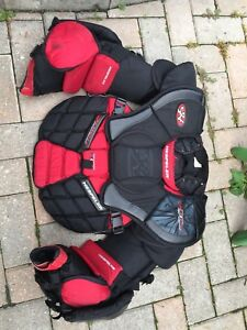 Goalie equipment package