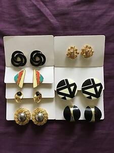 VINTAGE JEWELLERY EARRINGS FOR SALE CLOTHING New Farm Brisbane North East Preview