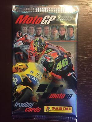 2003 Motogp Trading Cards Pack Rossi Biaggi Hayden Brand New Honda Yamaha Ducati