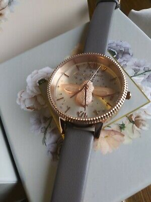 Olivia Burton Celestial 3D Bee Demi Dial Women's Watch OB16GD06 34mm $225 + tx