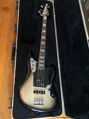 Troy Sanders Fender Jaguar Bass Silverburst - **USED with HSC**