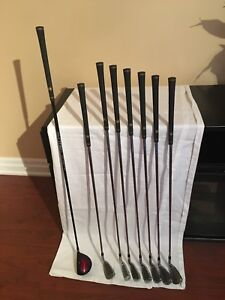 Wilson Ultra TFX Irons and 3 Wood - LH