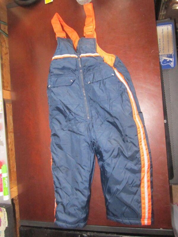 French Toast 3T Blue Orange snow pants ski suit Pants bibs cute sledding cold