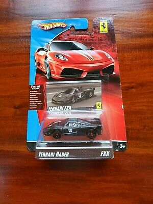 HOT WHEELS 2007 FERRARI RACER FXX WITH FERRARI STICKER